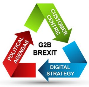 G2B and Brexit: interplay between customer centricity, digital strategy and political agendas
