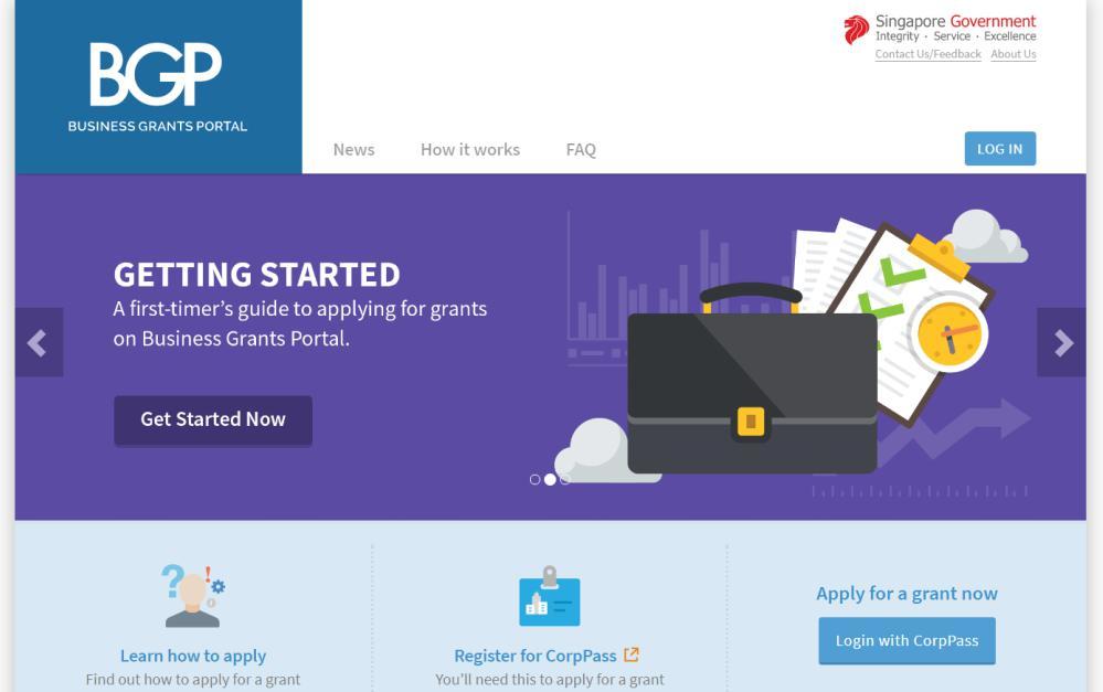 Singapore's Business Grants Portal