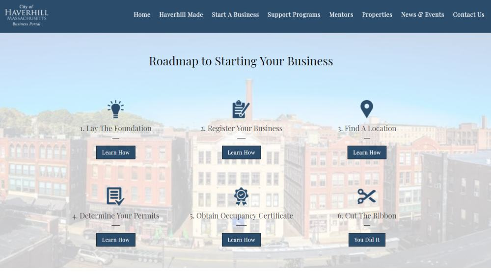 Haverhill Business Portal - Starting A Business