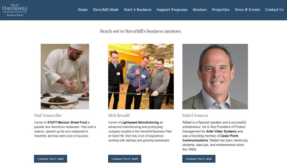 Personal connections - Mentors Haverhill Business Portal