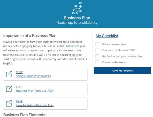 Long Beach - Business Planning