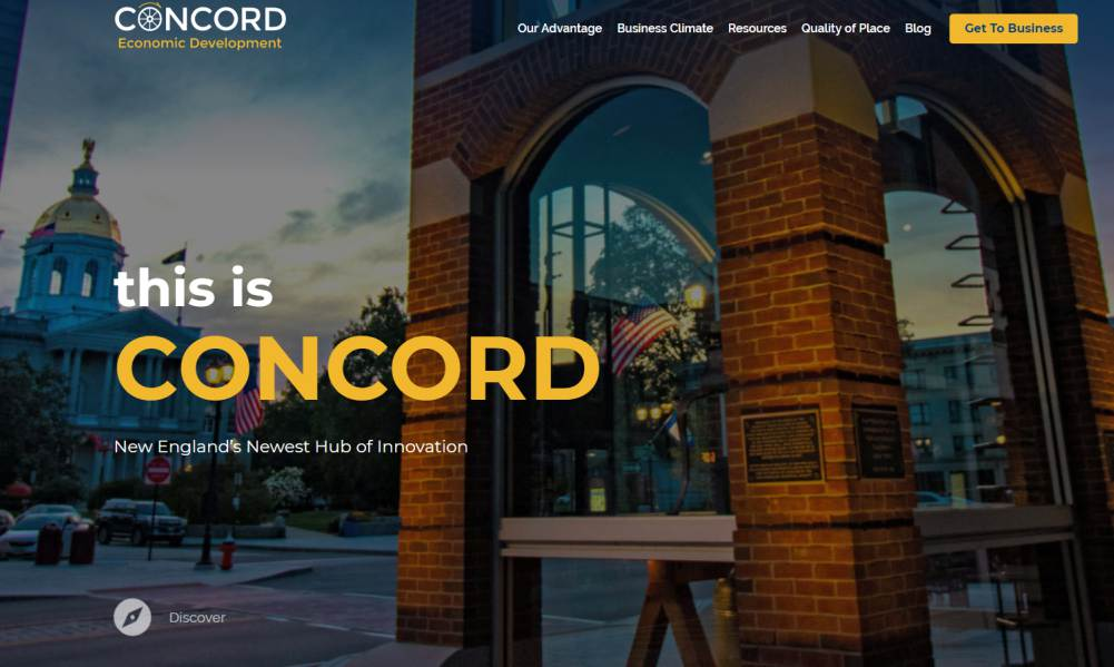 Concord's Economic Development site