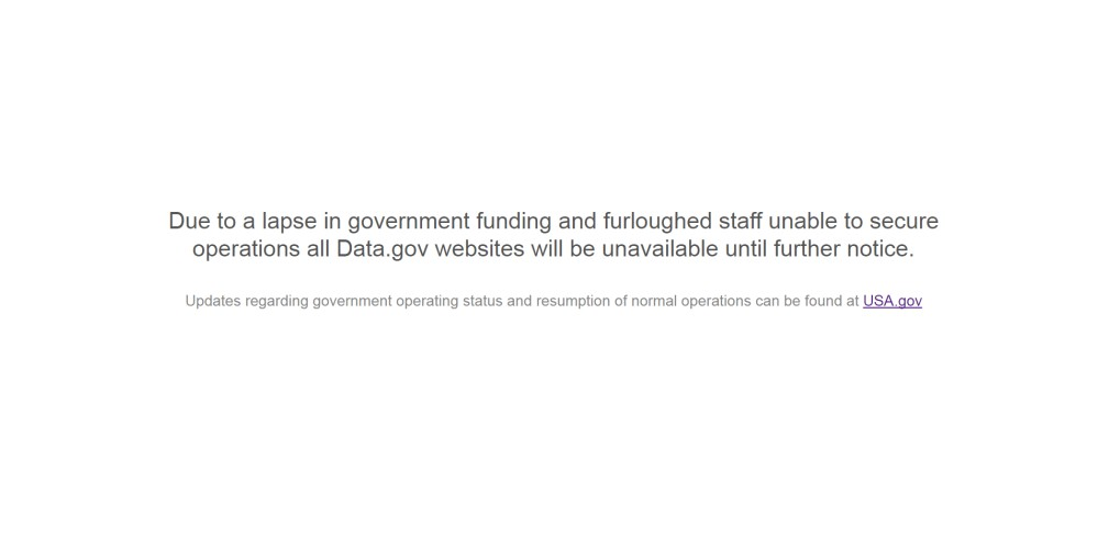 Data.gov redirect